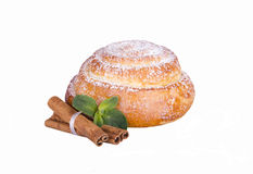 Bulle med pudrat socker Royaltyfri Foto