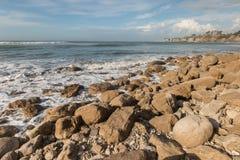 Buller Bay near Cape Foulwind on West Coast Royalty Free Stock Photo