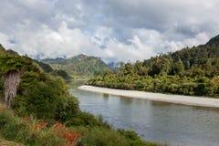 Buller rzeki dolina Obrazy Stock
