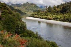 Buller rzeki dolina Fotografia Royalty Free