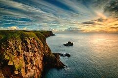 Bullers Buchan (Szkocja) fotografia stock