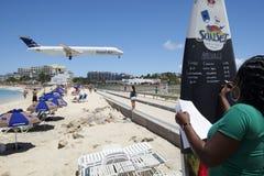 bullersammast strand Fotografering för Bildbyråer