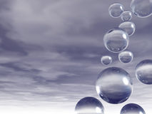 Bulles Photographie stock
