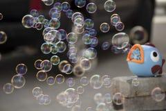 bulles Image stock
