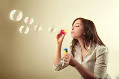 bulles Photo stock