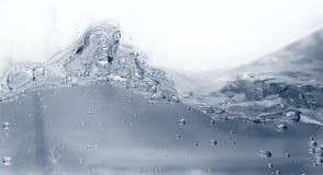 Bulles bleues abstraites Image libre de droits