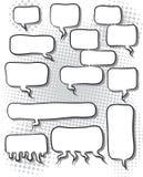 Bulles comiques de la parole Illustration Libre de Droits
