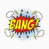 Bulles comiques de la parole avec des émotions - COUP Croquis de bande dessinée des effets de dialogue en style d'art de bruit su illustration stock