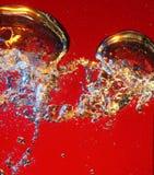 bulles d'air Photos libres de droits