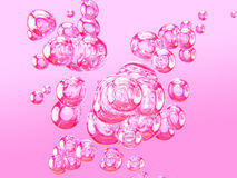 Bulles d'air II illustration stock