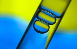 bulles d'Essai-tube Image libre de droits