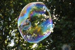 Bulles dans la bulle Photo stock