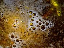 Bulles de bière Images libres de droits