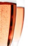 Bulles de Champagne Image libre de droits