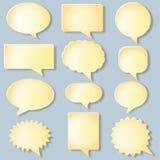 Bulles de communication illustration libre de droits