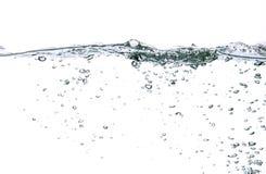 Bulles de l'eau Photo libre de droits