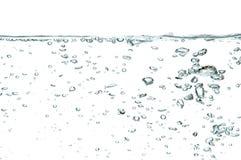 Bulles de l'eau Image stock