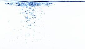 Bulles de l'eau Photographie stock