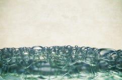 Bulles de l'eau image libre de droits