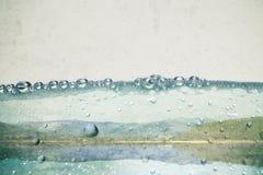 Bulles de l'eau images libres de droits