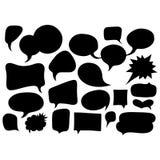 Bulles de la parole réglées Image stock