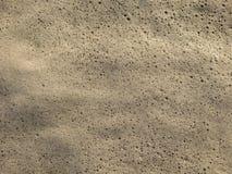 Bulles de mousse en mer Images libres de droits