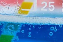 Bulles de produits chimiques Images libres de droits