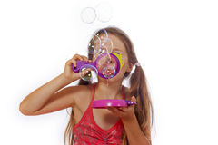 Bulles de savon image stock