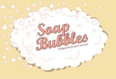 Bulles de savon Photos stock