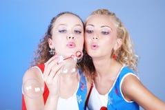 Bulles de savon Image libre de droits