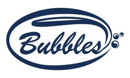 Bulles Logo Design Template Photographie stock libre de droits