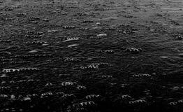 Bulles sur la ligne de flottaison Image libre de droits
