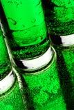 Bulles vertes Photographie stock libre de droits