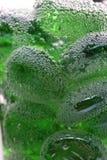 Bulles vertes Photos libres de droits