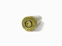 Bullet. (on a white background with space for text Royalty Free Stock Photography
