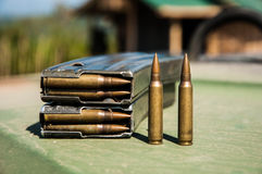 Bullet. Use by Thailand soldier Royalty Free Stock Photo