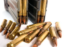 Bullet. Military industry kills people peace Stock Photo
