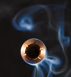 Bullet approaching Stock Image