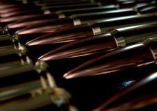 Bullet Array Stock Photo