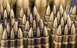Bullet. Assembly arranged for sale Royalty Free Stock Images