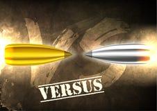 Bullet background concept. illustration Stock Images