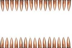 Bullet border Stock Image