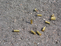 Bullet cases royalty free stock image