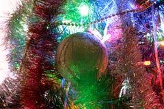 Bullet, Christmas decoration and beautiful illumination stock photo