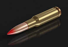 Bullet (clipping path included) Royalty Free Stock Image