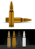 Bullet in different colors - vector Stock Photo