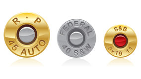 Bullet Ends Stock Photos