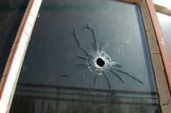 Bullet Hole Stock Photography