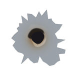 Bullet hole (vector) Stock Photos
