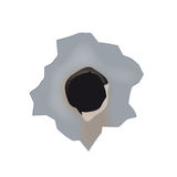 Bullet hole (vector) Stock Images